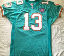 Dan Marino Miami Dolphins 1994 original authentic Wilson game model double stitched size 46 jersey