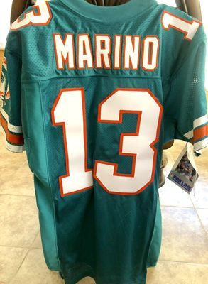 Dan Marino Miami Dolphins 1994 original authentic Wilson game model stitched size 42 jersey NEW