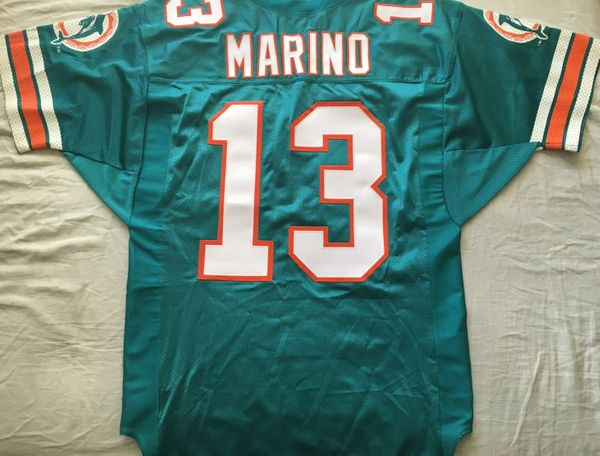 Dan Marino Miami Dolphins 1996 original authentic Wilson double stitched game model jersey NEW
