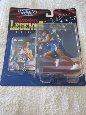 Dan O'Brien autographed 1996 Olympics Kenner Starting Lineup action figure
