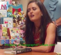 Danica McKellar autographed Girls Get Curves Geometry Takes Shape math book