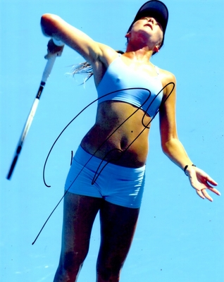 Daniela Hantuchova autographed 8x10 tennis photo