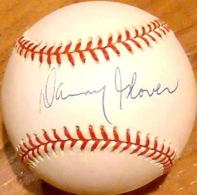 Danny Glover autographed Rawlings NL baseball