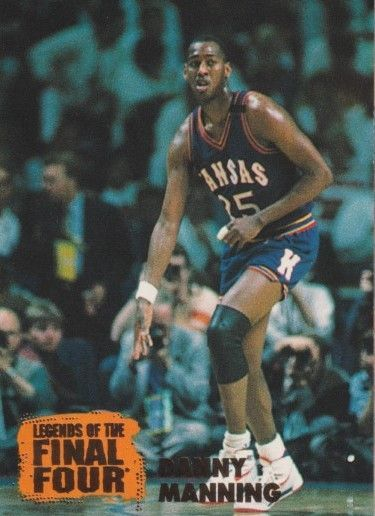 Danny Manning Kansas Jayhawks 1996 Classic Legends of the Final Four card