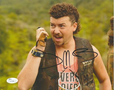 Danny McBride autographed Tropic Thunder 8x10 movie photo (JSA)