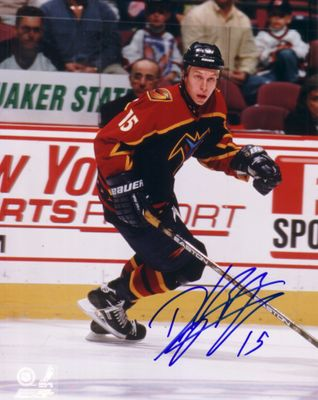 Dany Heatley autographed Atlanta Thrashers 8x10 photo