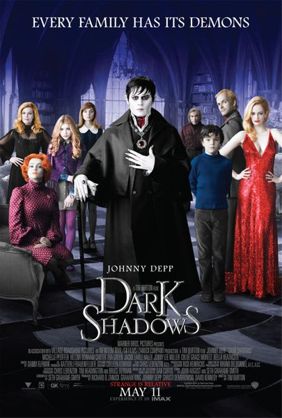 Dark Shadows mini movie poster (Johnny Depp)
