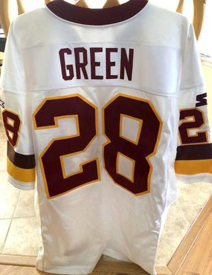 Darrell Green Washington Redskins 1994 authentic Starter game model white throwback jersey