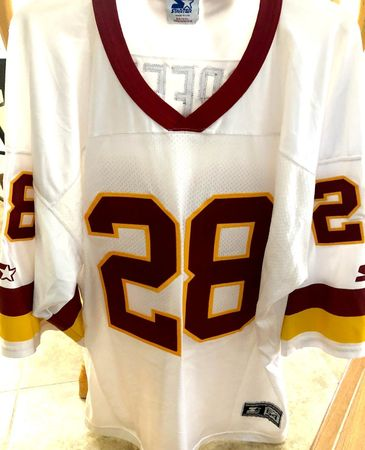 Darrell Green Washington Redskins 1990s authentic Starter white double stitched jersey