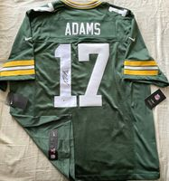 Davante Adams autographed Green Bay Packers authentic Nike green jersey (BAS)