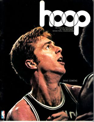 Dave Cowens Boston Celtics vs. Milwaukee Bucks 1975 Hoop game program