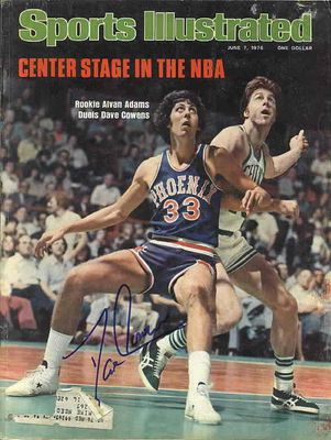 Dave Cowens autographed 1976 Boston Celtics Sports Illustrated
