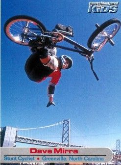 Dave Mirra 2001 Sports Illustrated for Kids Rookie Card