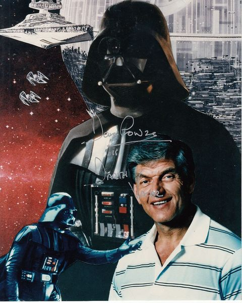 Dave Prowse autographed Star Wars Darth Vader 8x10 photo