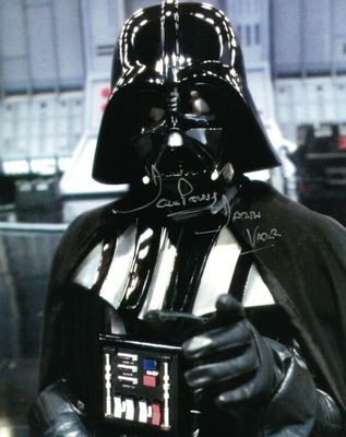 Dave Prowse autographed Star Wars 8x10 photo inscribed Darth Vader