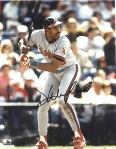 Dave Winfield autographed California Angels 8x10 photo