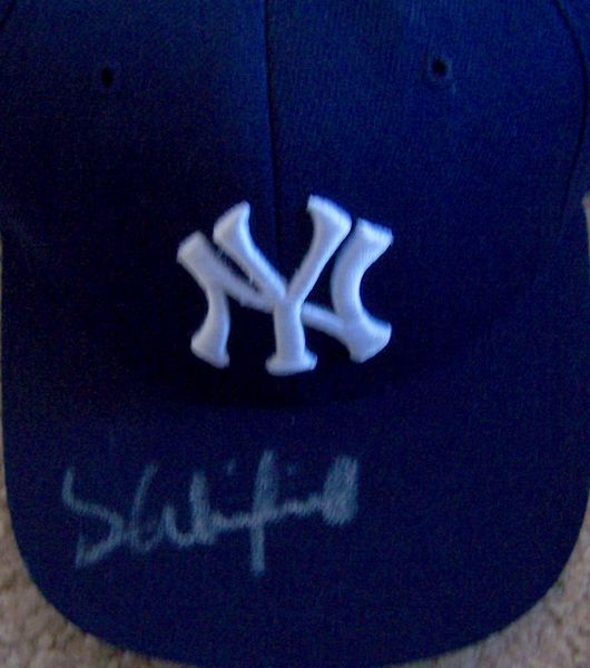 Dave Winfield autographed New York Yankees cap or hat