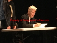 David Lynch autographed Room to Dream hardcover first edition book