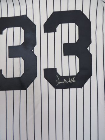 David Wells autographed New York Yankees Majestic authentic game model jersey