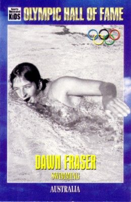 Dawn Fraser Olympic Hall of Fame 1995 Sports Illustrated for Kids card