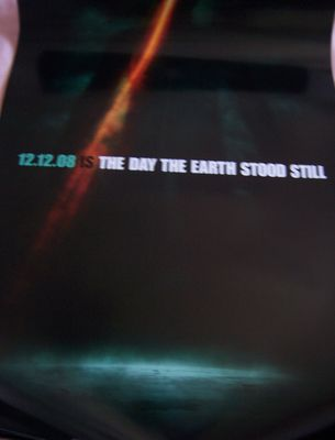 The Day the Earth Stood Still mini movie poster