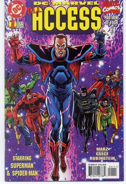 DC Marvel Access 1996 comic book issue #1