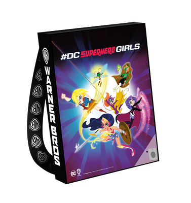 DC Super Hero Girls 2018 Comic-Con exclusive huge promo tote bag or backpack NEW