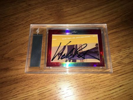 Debbi Peterson and Vicki Peterson 2015 Leaf Masterpiece Cut Signature certified autograph card 1/1 Bangles JSA