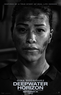 Deepwater Horizon 2016 mini 13x20 movie poster (Gina Rodriguez)