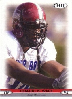 DeMarcus Ware 2005 SAGE Hit Rookie Card