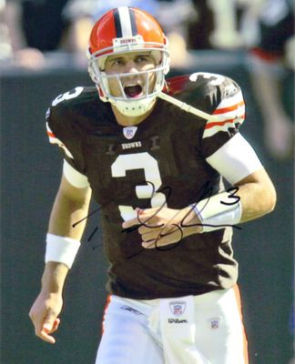 Derek Anderson autographed Cleveland Browns 8x10 photo