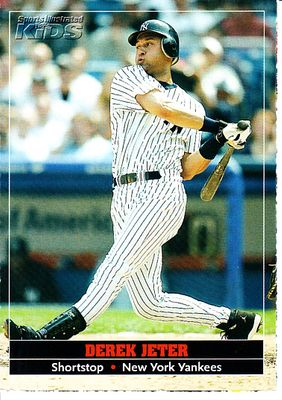 Derek Jeter New York Yankees 2005 Sports Illustrated for Kids card