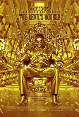 Devil's Double full size 27x40 inch movie poster (Dominic Cooper)