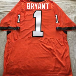 Dez Bryant Oklahoma State Cowboys authentic Nike double stitched orange #1 jersey NEW