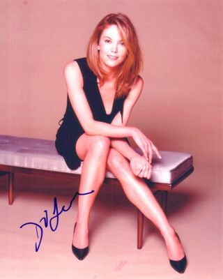 Diane Lane autographed sexy 8x10 photo