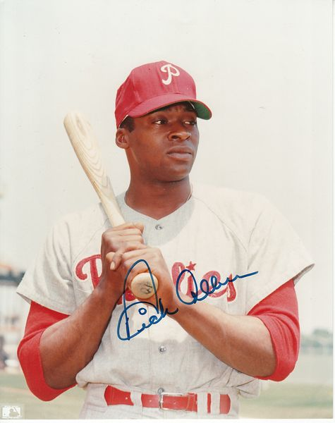 Dick Allen autographed Philadelphia Phillies 8x10 photo
