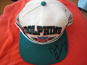 Dick Anderson autographed Miami Dolphins cap or hat