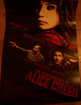 Disappearance of Alice Creed 2010 mini movie poster