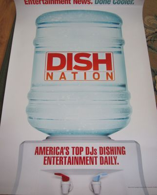 Dish Nation 2013 Comic-Con 27x40 full size promo poster