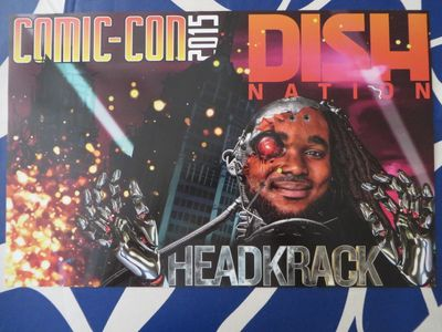 Dish Nation Headkrack 2015 Comic-Con exclusive poster