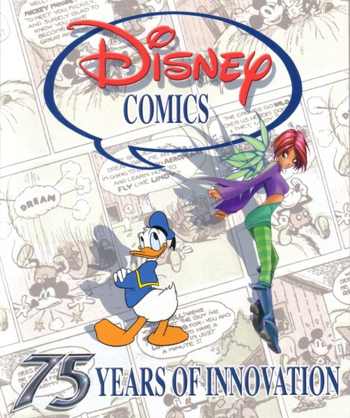 Disney Comics 75 Years of Innovation 2005 Comic-Con softcover book