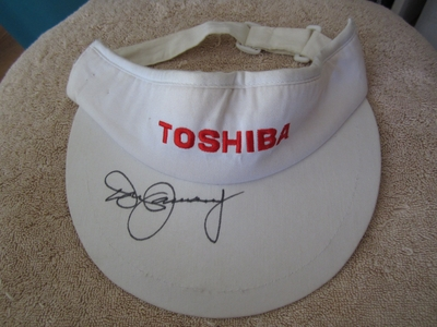 Don January autographed Toshiba Classic golf visor