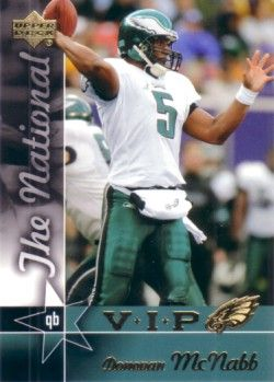 Donovan McNabb Philadelphia Eagles 2005 Upper Deck National Convention VIP promo card