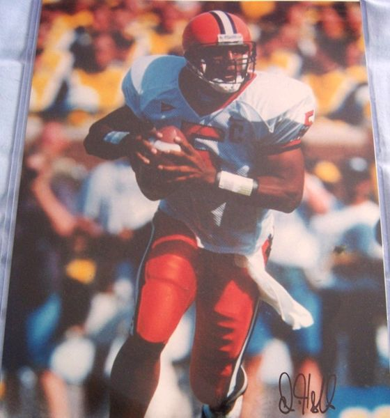 Donovan McNabb autographed Syracuse Orangemen 11x14 photo (Total Sports Concepts)