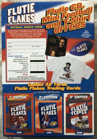 Doug Flutie Flakes 2000 Third Edition Collector's cereal box (full and unopened)