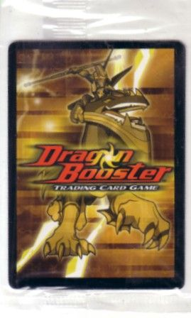 Dragon Booster trading card game 2004 promo card MINT