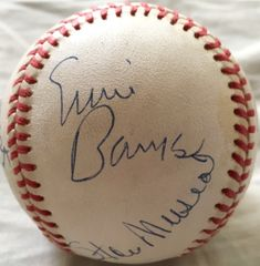 MLB Dream Team autographed NL baseball Hank Aaron Ernie Banks Johnny Bench Sandy Koufax Willie Mays Stan Musial JSA