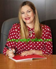 Drew Barrymore autographed Find it in Everything hardcover first edition book