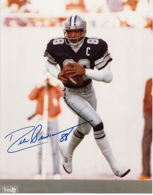 Drew Pearson autographed Dallas Cowboys 8x10 photo