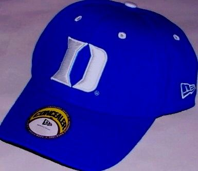 Duke Blue Devils fitted cap or hat by New Era (size 6 3/4)